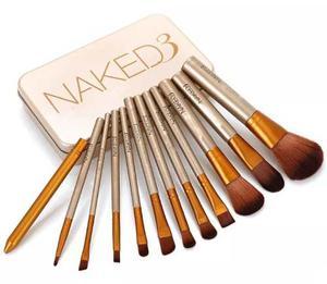 Set De Brochas Naked 3, 12 Piezas Oferta