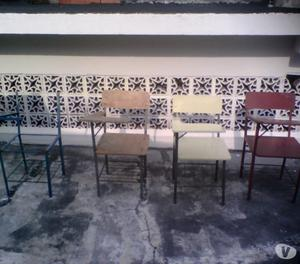 VENDO PUPITRES (SOLO LA ESTRUCTURA METALICA) EN TACHIRA