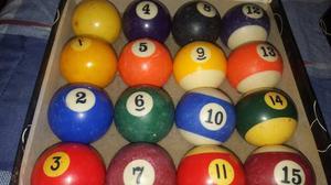 Vendo Juegos De 16bolas De Pool Usadas