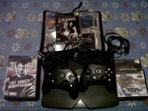 Xbox Clasico Con 2 Controles Mas 120 Juegos Aproximadamente