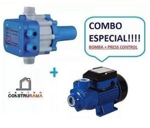Bomba Agua 1/2 Hp Usa Con Sensor Press Control Koby