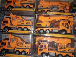 Carros Tractores De Plásticos Juguetes