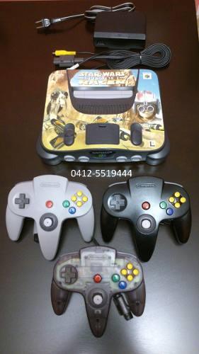 Combo Nintendo 64 Con Juegos, Controles N64 Y Juegos Pokemon