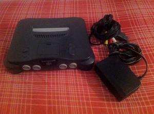 Consola De Nintendo 64 + 2 Controles
