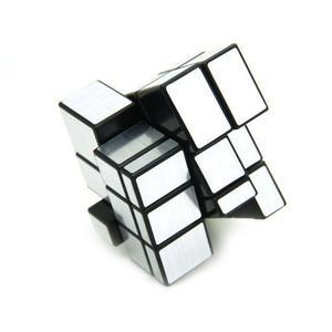 Cubo Mirror Silver Plateado Original Shengshou Espejo Rubik