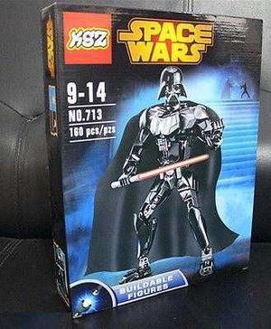 Darth Vader Marca Ksz Para Armar 25 Cms De Alto