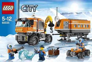 Lego City Arctic  Centro De Control Ártico 374 Pzs