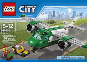 Lego City  Avión De Mercancías 157 Pzs