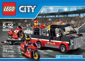 Lego City  Transporte De La Moto De Carreras 178 Pzs
