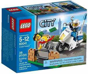 Lego City  Tras El Ladrón 38 Pzs