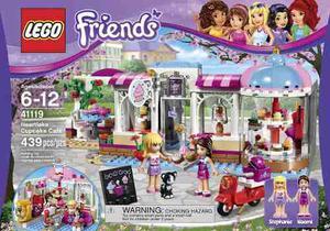 Lego Friends  Cafetería De Heartlake 439 Pzs