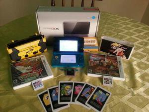 Nintendo 3ds Con Todo Sus Accesorios