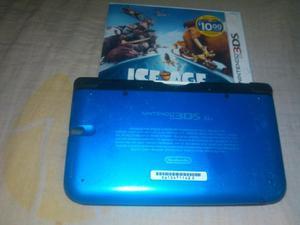 Nintendo 3ds Xl Con Cargador+estuche+juego Original