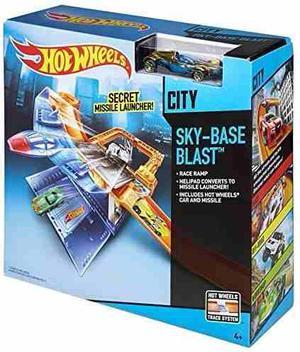 Pista Hotwheels Explosion Espacial Hw City