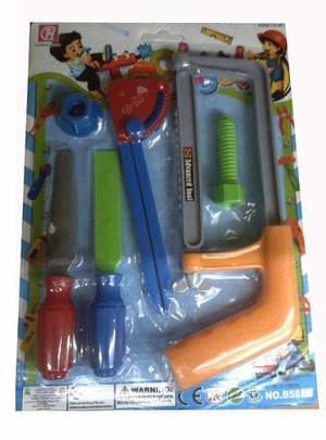 Set De Herramientas De Juguete Para Niños