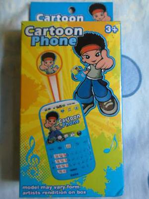 Telefono Celular De Juguete Para Niños Bebes Didactico