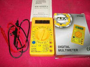 Tester Multimetro Digital (con Sonido)