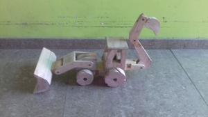 Tractor De Madera Con Iva Incluido