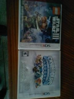 Vendo 2 Juegos De Nintendo Ds3d Original!!!!