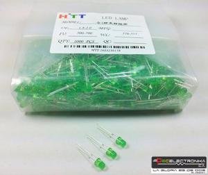 10 Led Verde, 10 Led Ámbar Y 10 Led Rojos De 4 Mm