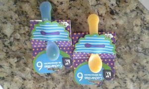 Cucharas De Plástico Para Bebes