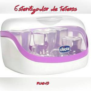 Esterilizador De Teteros Para Microhondas Chico Natural Fit