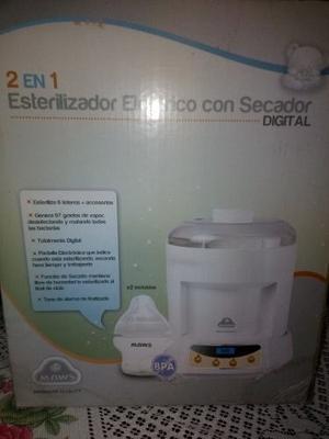 Esterilizador Electrico Con Secador Digital/2 En 1 Maws