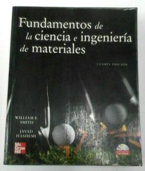 Libro Fundamentos De La Ciencia E Ingenieria De Materiales