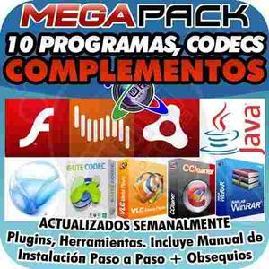 Megapack Programas Ccleaner Adobe Flash Pdf Java Winrar Y +