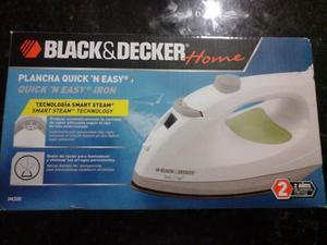 Plancha De Ropa A Vapor Y Rociar Black&decker Original Nueva