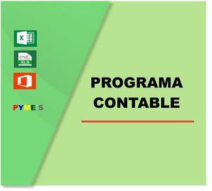 Programa Excel Contabilidad Diario Mayor