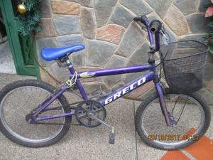 bicicleta rin 20 GRECO