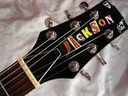 guitarra Jackson Scot Ian con estuche duro