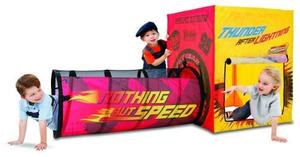 Carpa Tunel Para Niños. Original Play Hut. Parque Infantil