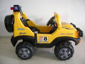 Carro De Batería Recargable Para Niños, Usado Funcionando