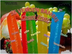 Guia Chupis Cremosos/citricos/gelatina Formula Y Algo Mas
