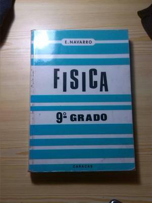 Libro Física 9° Grado E. Navarro