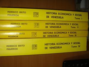 Libro Historia Económica Y Social De Venezuela