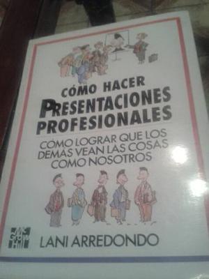 Libro Usado Como Hacer Presentaciones Personales