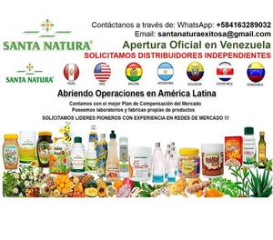 MEJORA TU SALUD con SANTA NATURA Venezuela