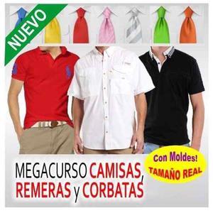 Moldes Para Imprimir Y Fabricar Camisas, Chemisses Y Corbata