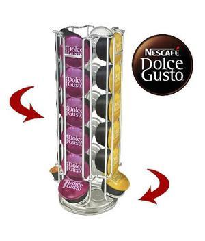 Porta Capsulas Giratorio Para Capsulas Dolce Gusto Nescafe