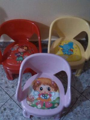 Sillas De Plástico Para Niños Con Sonido Al Sentarse