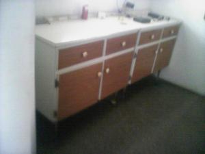 mi gavinetes de cocina de formica y madera