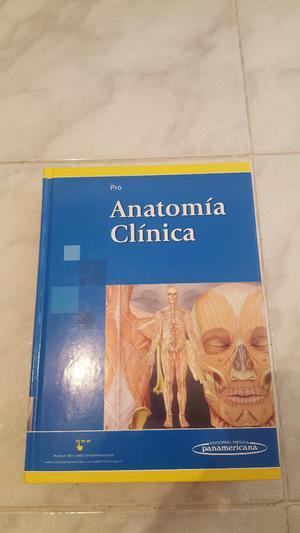 Anatomia Clinica Pro Libro Original