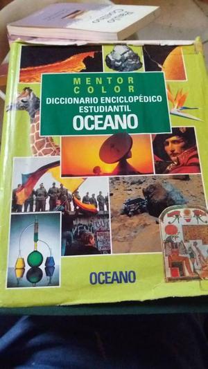 Diccionario enciclopédico ilustrado Océano, libros de