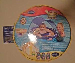 Flotador Inflable Para Bebes. Baby Spring Float