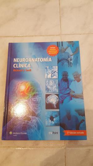 Libro Neuroanatomia Clinica Richar Snell