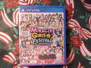 Miracle Girls Festival - Psvita - Japones