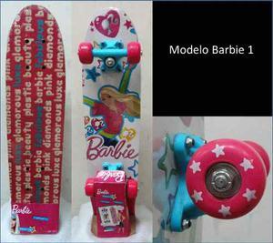 Patineta 4 Ruedas Barbie, Hotwheels, Max Steel, Batle Forces